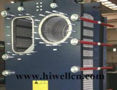 Semi-welded plate heat exchanger
