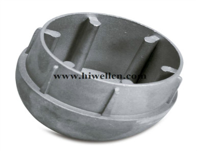 Die-cast Part for Automotive and Agricultural Machinery Parts, Made of Aluminum or Zinc Alloy