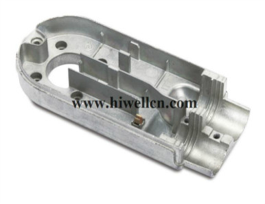 Die-cast Part for Tools and Machinery, Made from Aluminum or Zinc Alloy