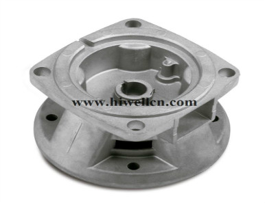 Die-cast Part, Customized Designs are Accepted, Made of Aluminum or Zinc Alloy
