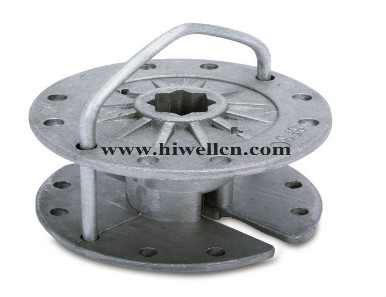 Die-cast Part, Made from Aluminum or Zinc Alloy, Customized Designs are Accepted