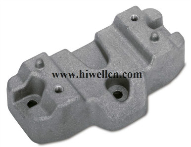 Die-cast Part, Made from Aluminum or Zinc Alloy