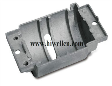 Die-cast Part, Made of Aluminum or Zinc Alloy, Customized Specifications are Accepted