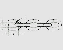 TRANSPORTATION CHAIN G70, U.S. TYPE NACM96