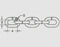 TRANSPORTATION CHAIN G70, U.S. TYPE NACM8490