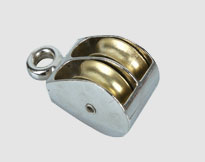 DIE CASTING DOUBLE PULLEY,Zinc Alloy,Zinc Plated