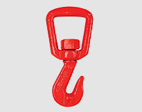 ALLOY GRAB HOOK FOR WEBBING, forged alloy steel