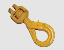 CLEVIS SWIVEL SELF-LOCKING HOOK WITH BEARING