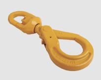 SWIVEL SELF-LOCKING SAFETY HOOK,EUROPEAN TYPE