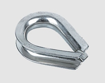 STAINLESS STEEL EXTRA HEAVY DUTY WIRE ROPE THIMBLE U.S TYPE,a.i.s.i 304 or 316