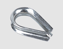 STAINLESS STEEL STANDARD WIRE ROPE THIMBLE U.S TYPE,a.i.s.i 304 or 316