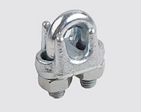 JIS TYPE DROP FORGED WIRE ROPE CLIP,H.D.G