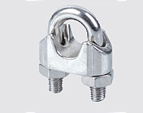 STAINLESS STEEL DIN741 WIRE ROPE CLIP,a.i.s.i.304 or 316