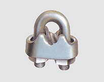 WIRE ROPE CLIP BS462,MALLEABLE,H.D.G