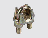WIRE ROPE CLIP TYPE A ,YELLOW ZINC PLATED