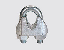 WIRE ROPE CLIP TYPE B ,MALLEABLE,ZP